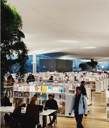 Biblioteca y el éxito académico